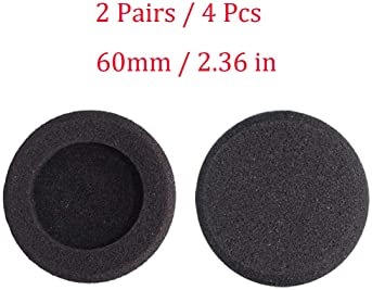 Bingle Ear Cushions Foam Replacement for Plantronics Supra Plus Encore and Most Standard Size Office Telephone Headse...