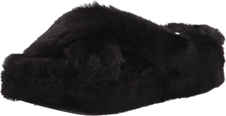 Jessica 2021 Simpson Max 70% OFF Womens Talulla Faux Sandals Slides Fur Flatform
