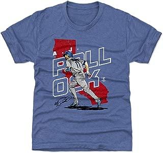 A.J. Pollock Los Angeles Baseball Kids Shirt - A.J. Pollock Player Map
