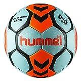 HUMMEL Ballon DE Handball Sense Grip Club (Iced Aqua/Shocking Orange, T2)
