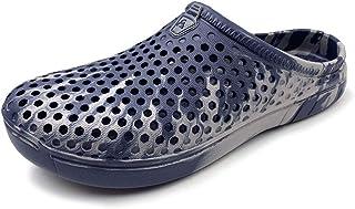 Amoji Unisex Camo Garden Clogs Mix Fire Crocks Shoes