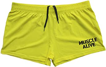 "Heren Gym Bodybuilding Workout Sportshorts Fitness 3""shorts Katoen"