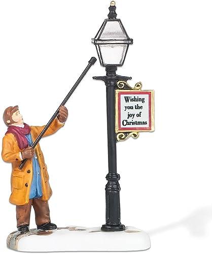Department 56 New England Village Lamplighter Accessory Figurine