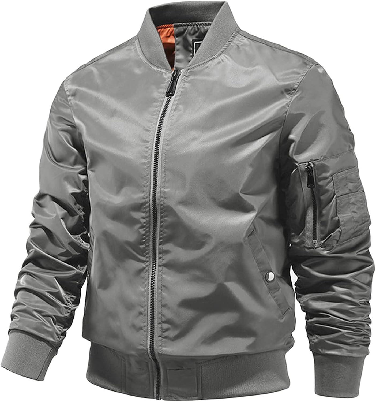 Mens Leisure Plus Size Zip Jacket Pocket Solid Color Lapel Add Flight Blouse Top
