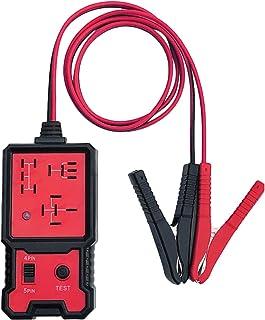 Sangmei Testador de relé eletrônico de verificador de bateria de carro 12V com ferramenta de diagnóstico de relé automotiv...