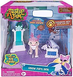 Animal Jam Snow Fort Den Exclusive Playset by Jazwares