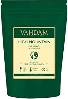 VAHDAM, High Mountain Oolong Tea Leaves from Himalayas (50 Cups), 3.53oz, OOLONG TEA FOR..