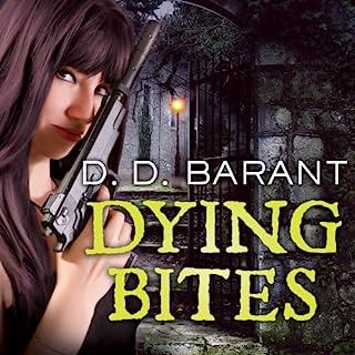 Dying Bites audiobook cover art