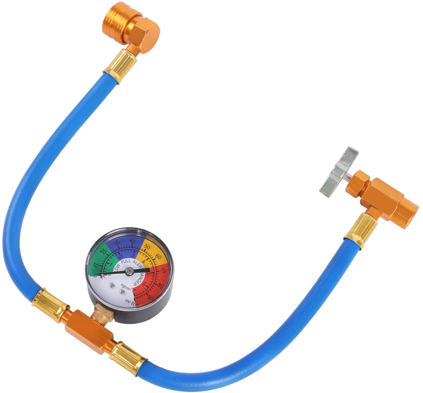 YSTOOL AC U Charge Hose Free shipping anywhere in the nation with Ranking TOP14 Car Recharg Refrigerant R134a Gauge