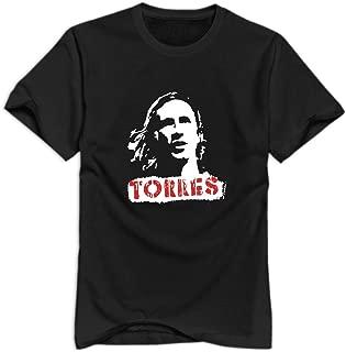 Men's Fernando Torres Head Poster T Shirt Shirt.