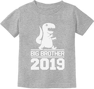 T-Rex Boy Cute Big Brother 2019 Toddler Kids T-Shirt