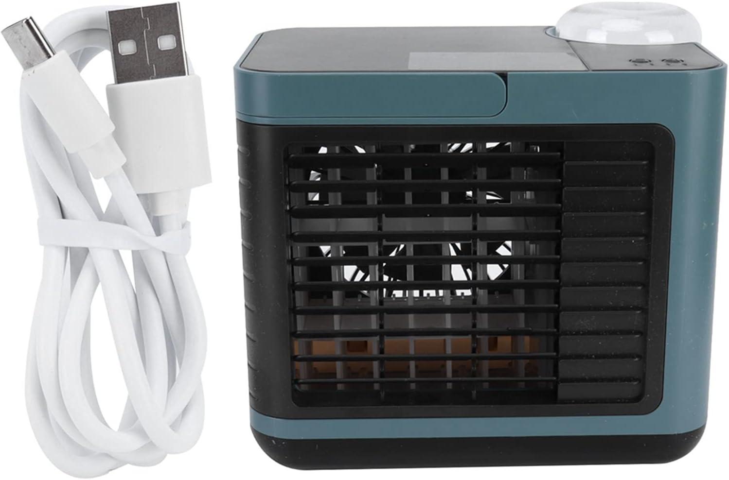 Mini Air Conditioner Los Angeles Mall In stock Three‑Dimensional Wide‑Angle