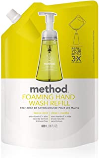 Foaming Handwash Refill-Lemon Mint, 28 oz, 2 pk