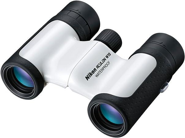 Nikon Aculon W10 10x21 Fernglas Weiß Kamera