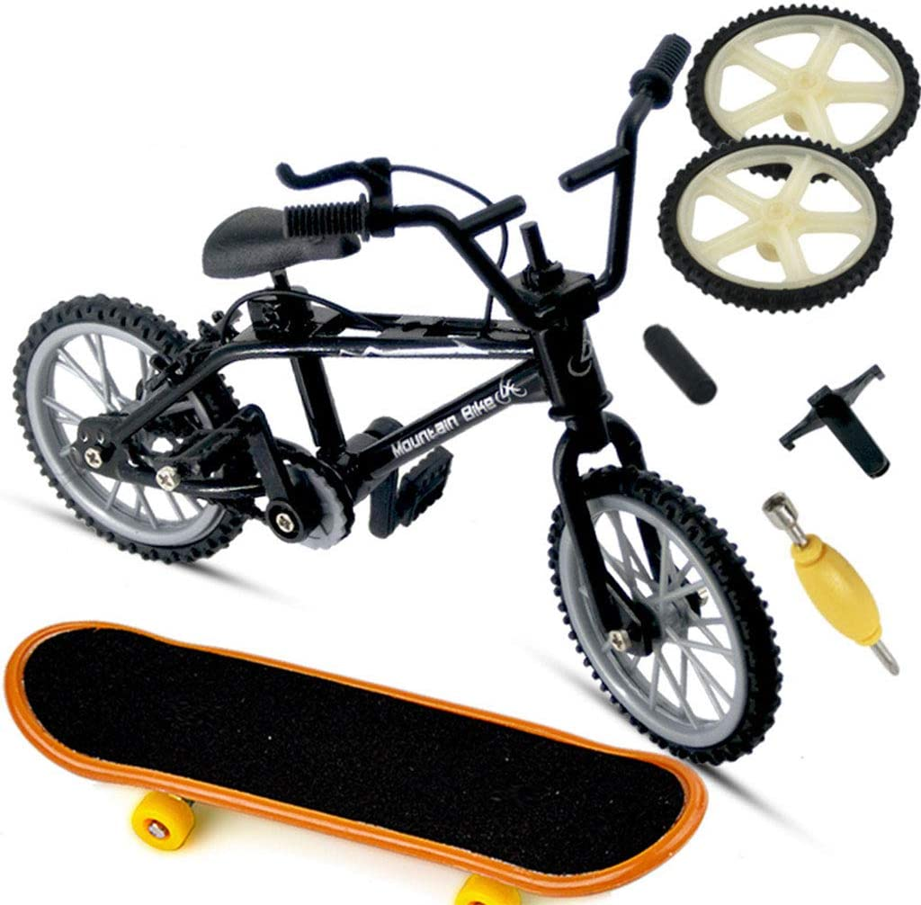 xiuersty Mini Bike Finger Bicycle New product! New type Alloy Skateboard Sports Max 83% OFF