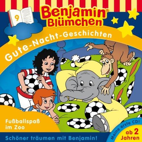 Fußballspaß im Zoo audiobook cover art