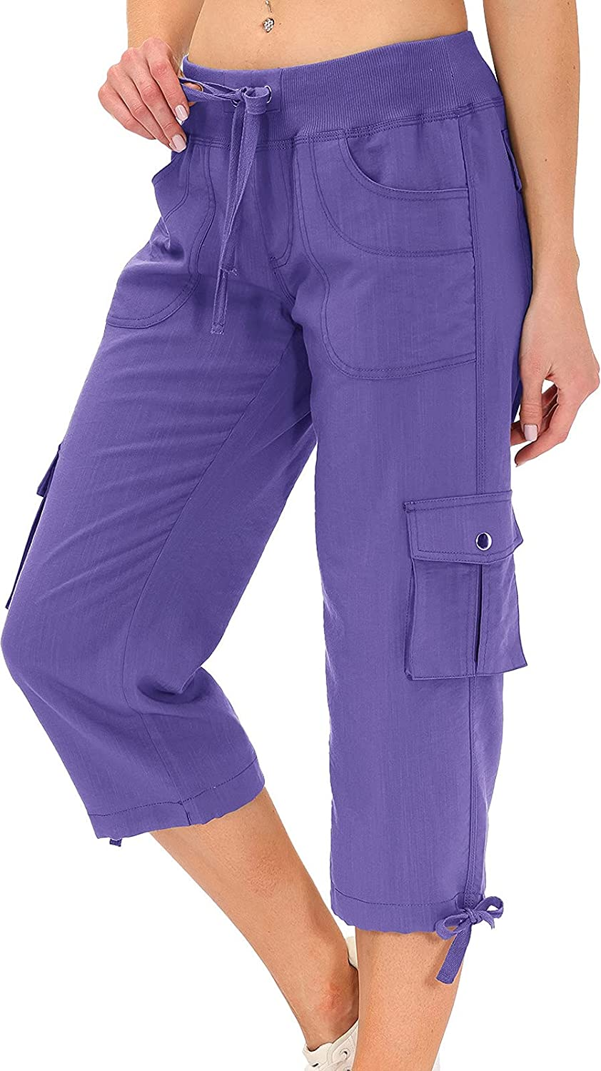 Hiking SEAL limited product Cargo Shorts for Women Dry Cam Active Pants Fit Direct store Capri