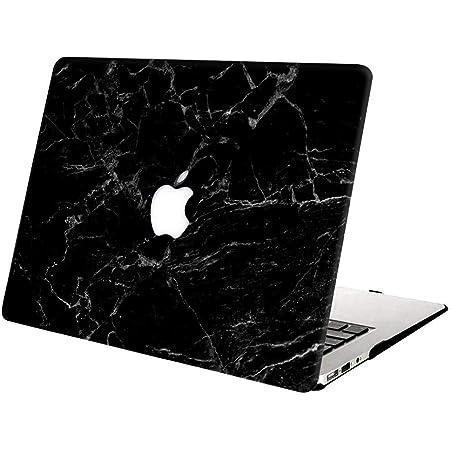 Marmo Nero Plastica Case Cover Rigida Copertina Protettiva per Nuovo MacBook Air 13.3 Touch ID AJYX Custodia MacBook Air 13 Pollici 2020 2019 2018 Modello: A2179//A1932