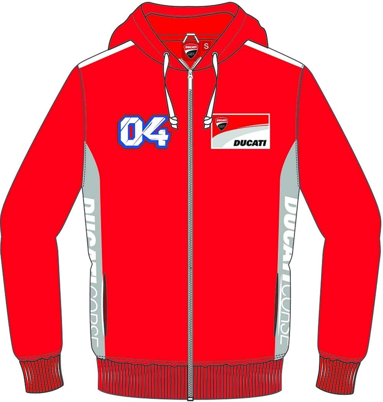 Ducati Andrea Dovizioso Herren-Sweatshirt, offizielle Kollektion 2019 X-Small