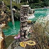 Design Toscano NG31189 Tiki God of the Luau Statue,woodtone