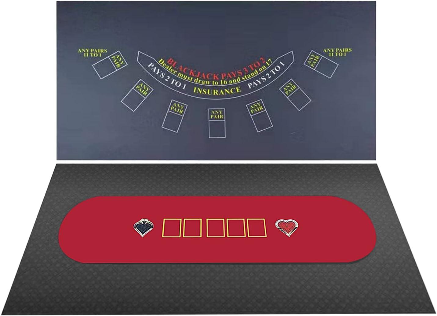 BALIKEN Texas Holdem Blackjack Professional price Over item handling dustproof Flannel