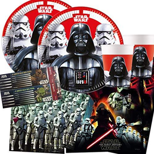 Procos IRPot - Kit N 9 Coordinato Compleanno Star Wars Guerre...