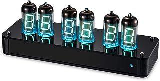レトロ 6 * IV-11 Nixie 真空管時計 (時間/日付/温度/VFD/アラーム/リモート )DIY KIT ギフト 基板