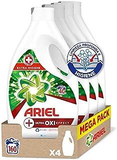 Ariel Vloeibaar wasmiddel, 160 wasbeurten (4 x 40), Ultra Oxi Effect