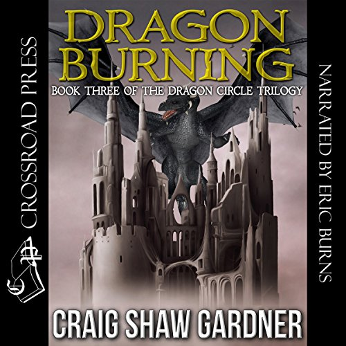 Dragon Burning audiobook cover art