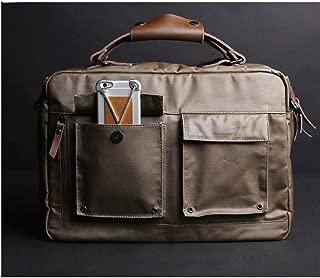 Handbag Retro Cross-Body Shoulder Messenger Bag (Color : Brown, Size : S)