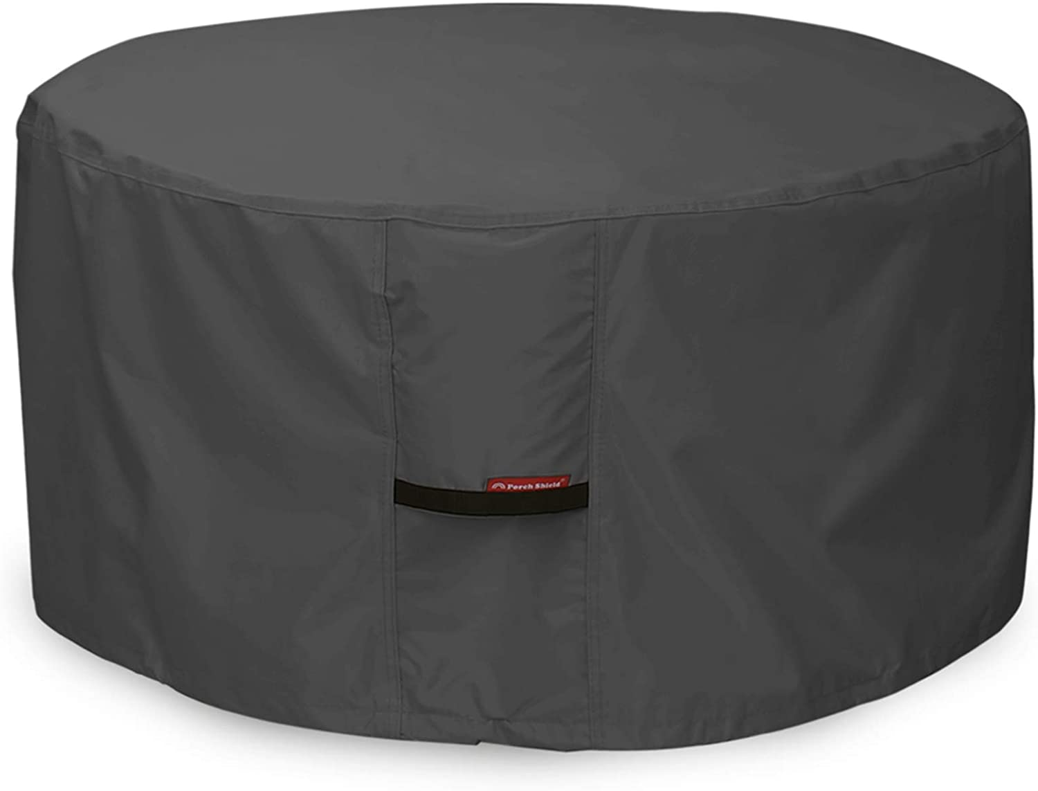 Porch Shield Fire Pit Cover - Waterproof Popular brand in the world Baltimore Mall Round 600D P Duty Heavy
