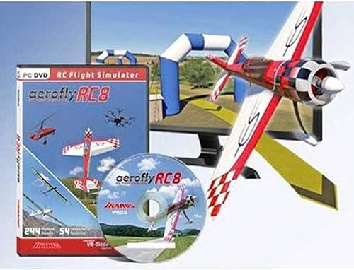 Ikarus Simulateur de vol pour modélisme aeroflyRC8 Logiciel UniqueHommest