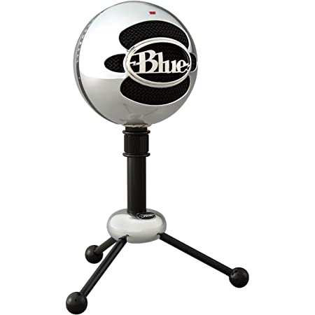 Blue Micrófonos USB Snowball, micrófono clásico de calidad de estudio para grabación, podcasting, radiodifusión, retransmisión de gaming en Twitch, locuciones, vídeos de YouTube en PC y Mac - Plata
