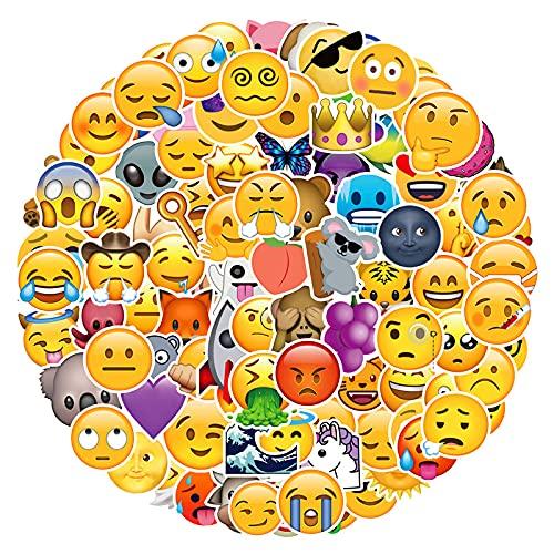 Cartoon Sticker Smiley Emoji Sticker Valigia Sticker Valigia Trolley Computer Skateboard Mobile Chitarra 100 Fogli
