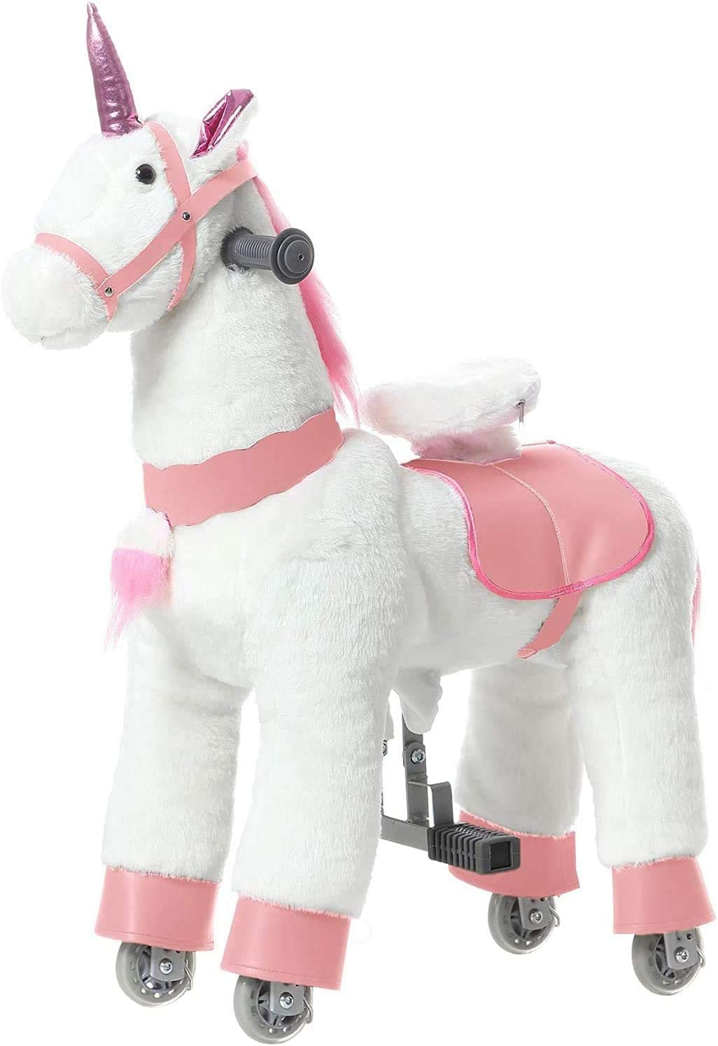 JoJoPooNy Ride New products world's highest quality popular on Unicorn NEW before selling Toy Years Ol 3-6 Kids for