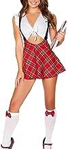 Oludkeph Women's School Girl Uniform Cosplay Strappy Halter Mini Skirt Lingerie Set Anime Sailor Cosplay Costume
