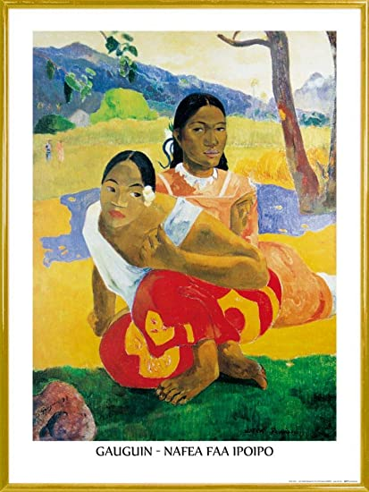 Poster Paul Gauguin nafea FAA ipoipo when Marry You