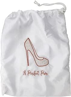 Miamica Perfect Pair 新娘抽绳鞋包 白色 均码