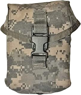 Military Outdoor Clothing Previously Issued ACU MOLLE Improved First-Aid Kit (IFAK) Pouch with Insert and New First Aid Supplies