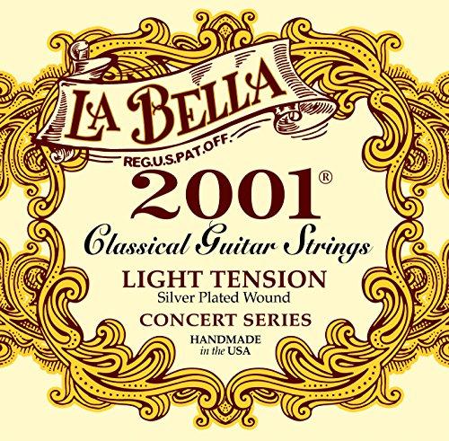 La Bella Classic 2001 LT, Saiten für Konzertgitarre, Light