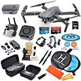 DJI Mavic PRO Drone Quadcopter with 2 Batteries, 4K Professional Camera Gimbal Bundle Kit with Must Have Accessories