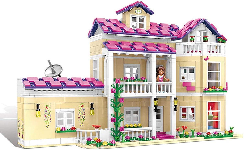 FTOPS 3D Bauspielzeug & Konstruktionsspielzeug für Erwachsene & Jugendliche Geschenke - Blcke Set Modell DIY Baukasten - Happy Dormitory