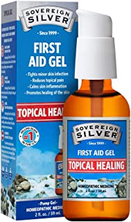 Sovereign Silver First Aid Gel – Homeopathic Medicine, 2 oz.