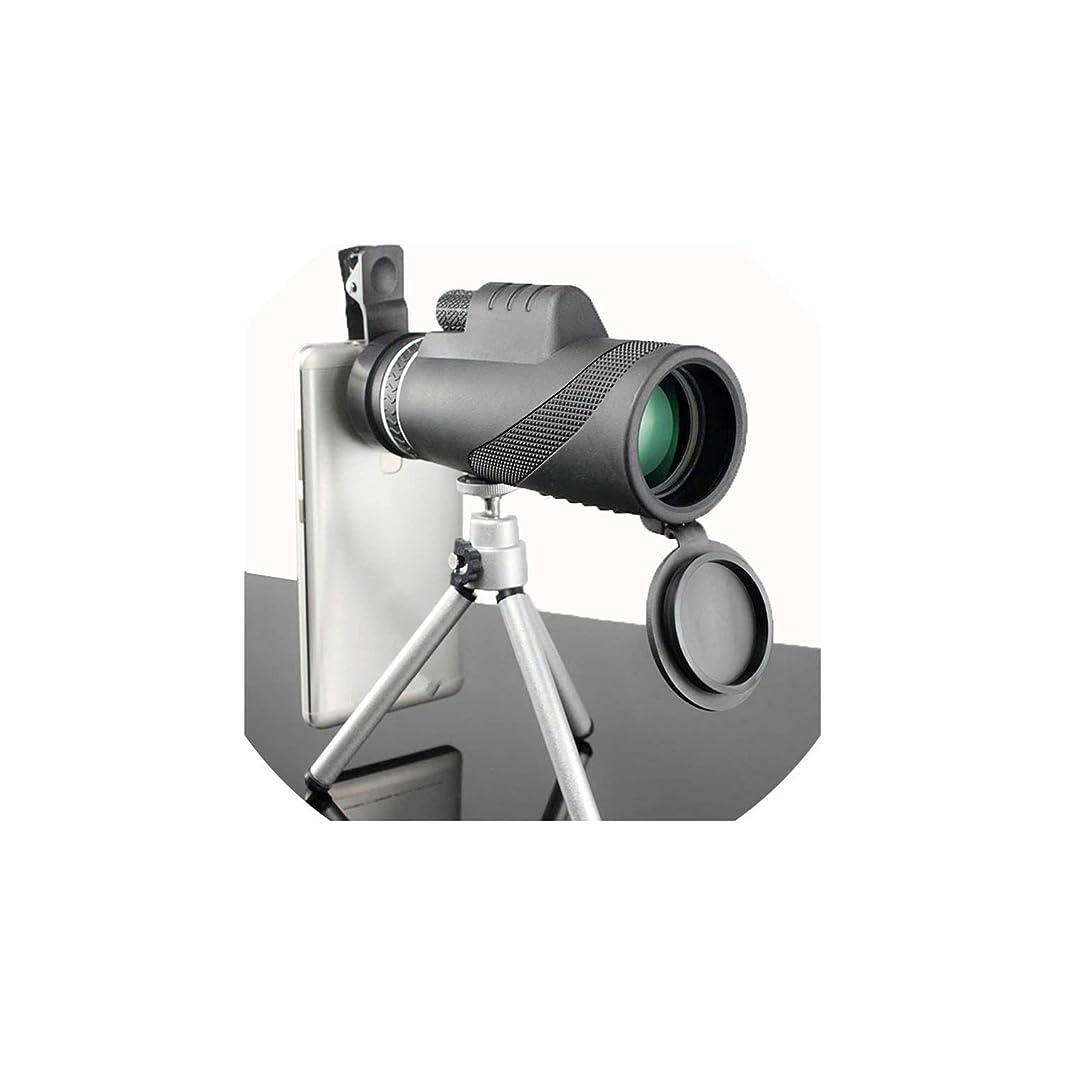 外出拡声器除去単眼鏡 40x60 強力な双眼鏡ズーム 優れた手持ち望遠鏡 ナイトビジョン ミリタリー HD プロ仕様 ハンティング