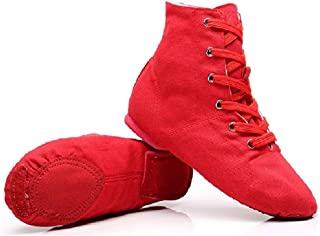 red flat ankle boots uk