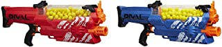 Nerf Rival Nemesis MXVII-10K, Red with Nerf Rival Nemesis MXVII-10K, Blue Bundle
