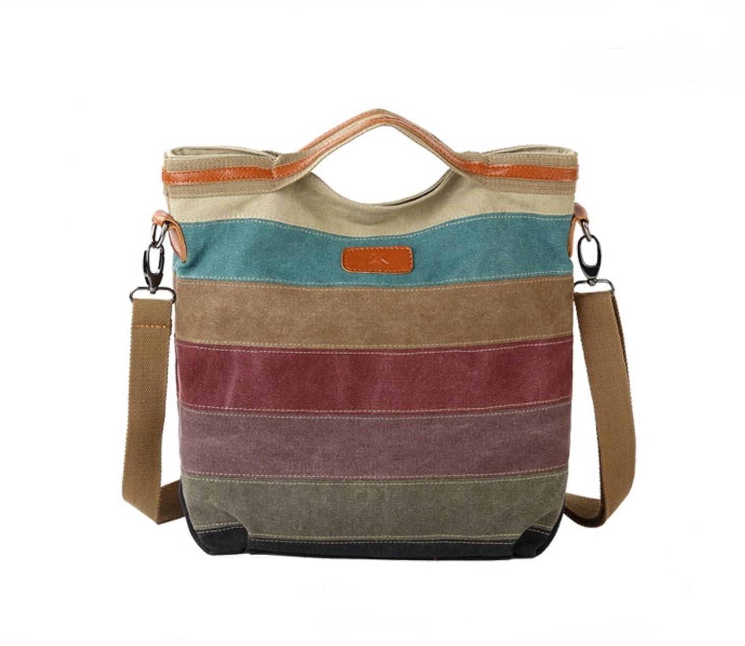 落ち着くドットシフト女性レディーキャンバスマルチヒットショルダーバッグハンドバッグメッセンジャーバッグ