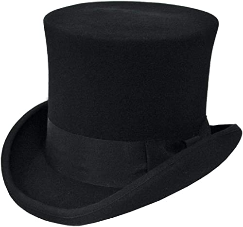 ventas en linea Disfraces para todas las ocasiones ocasiones ocasiones Ga15Bkmd Sombrero Alto negro Medio  Las ventas en línea ahorran un 70%.
