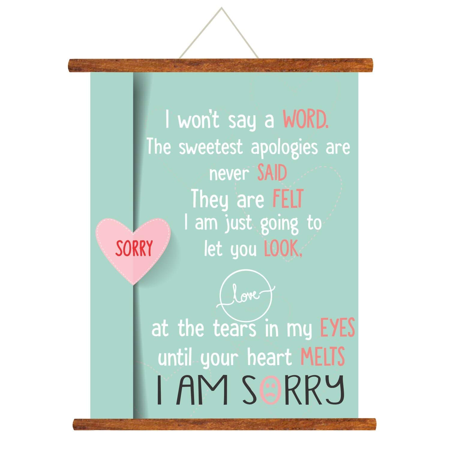 Say words boyfriend your to to sorry Words of