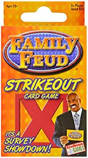 Fremantle Family FEUD Strikeout Card Game